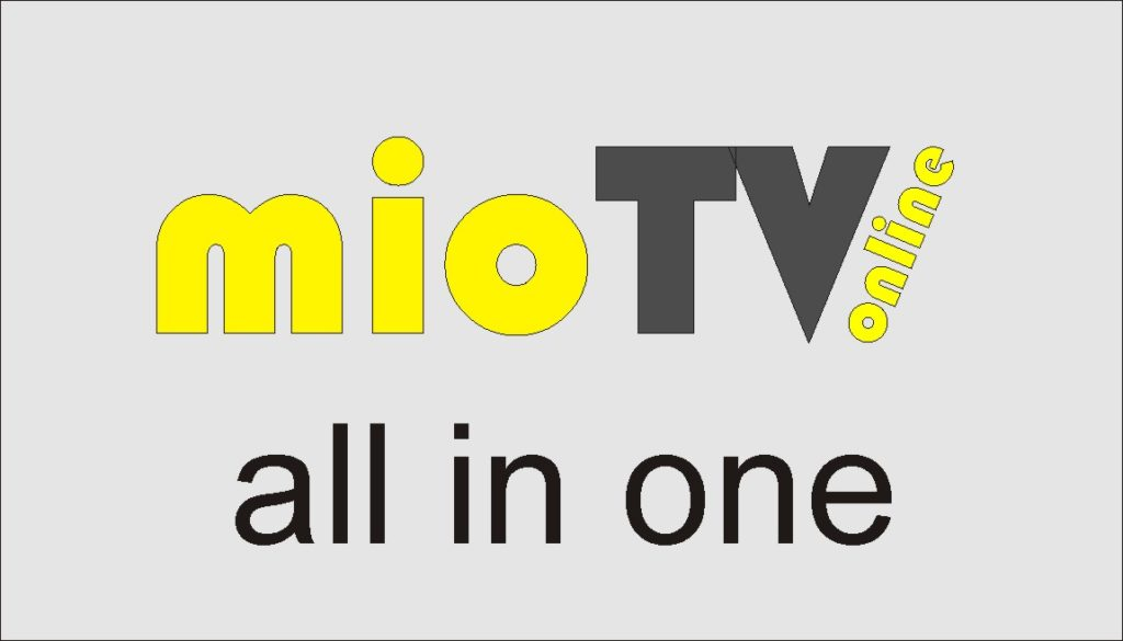 Miotv the streaming on internet TV, all Tv channels in one app